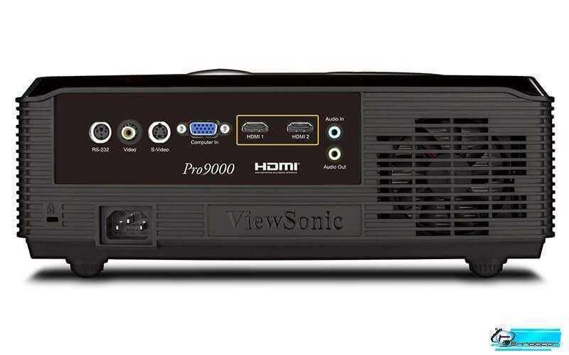 Viewsonic Pro9000 порты