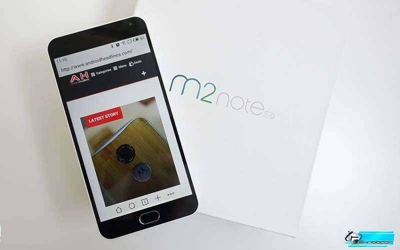 Meizu M2 Note – Обзор смартфона