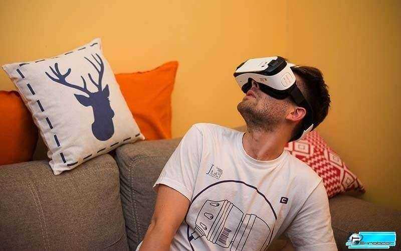 В очках Samsung Gear VR