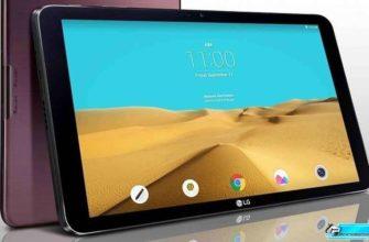 Новый планшет G-Pad 2 10.1 от LG