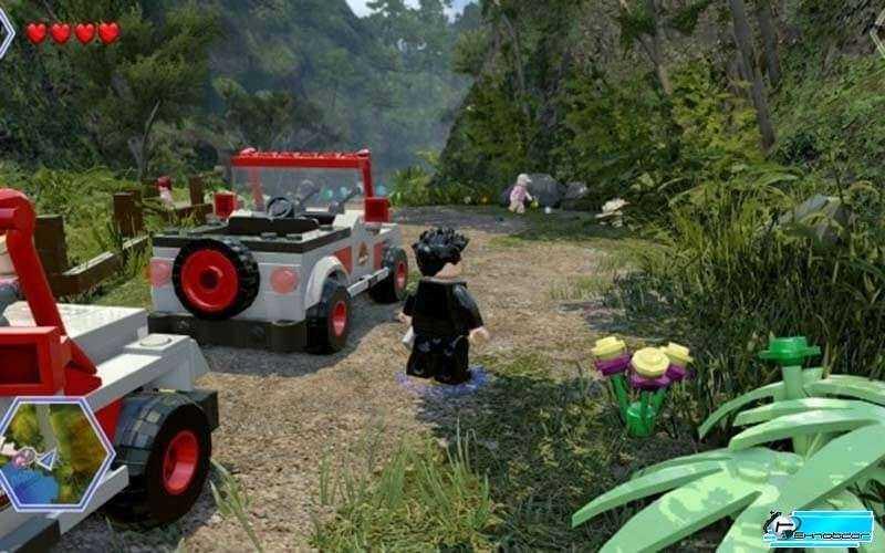LEGO Парк Юрского Периода