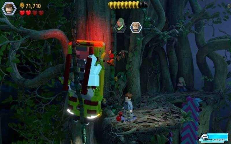 Игра LEGO Jurassic World