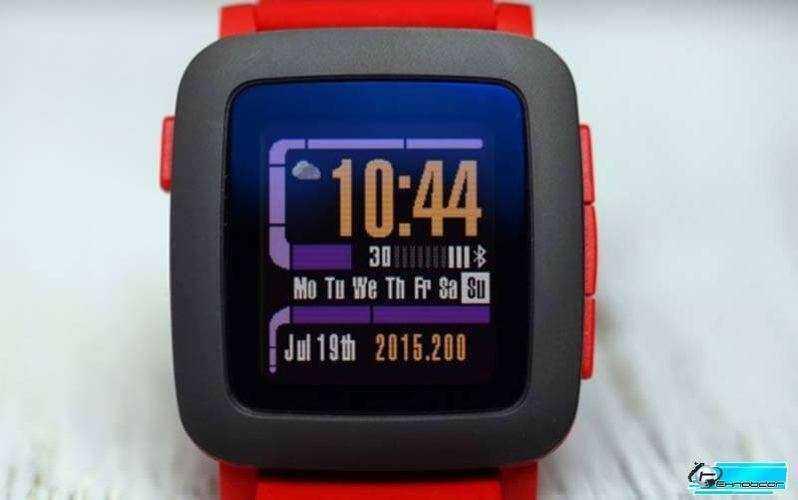 Pebble Time - умные часы для iphone