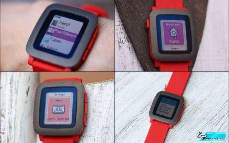 Часы Pebble Time