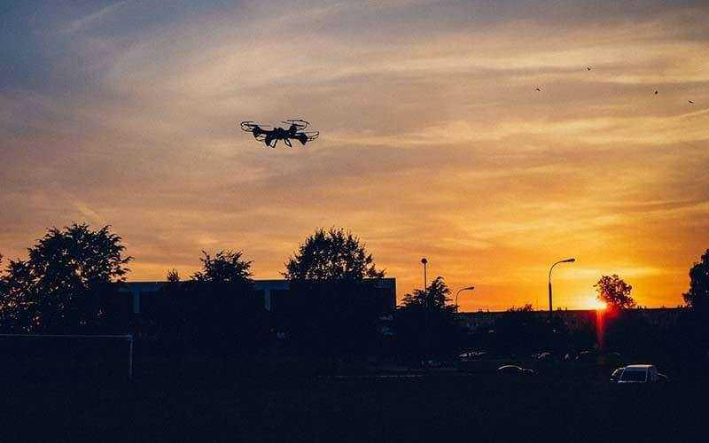 Полет Overmax X-Bee Drone 5.1