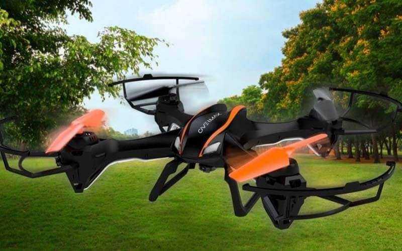 Летающий дрон Overmax X-Bee Drone 5.1