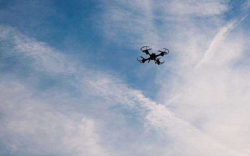 Overmax X-Bee Drone 5.1 в полете