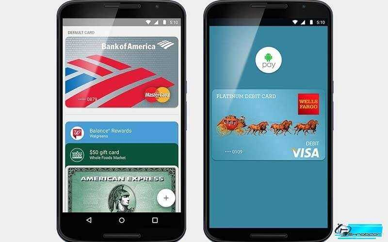 Android-Pay и аутентификации по отпечаткам пальцев
