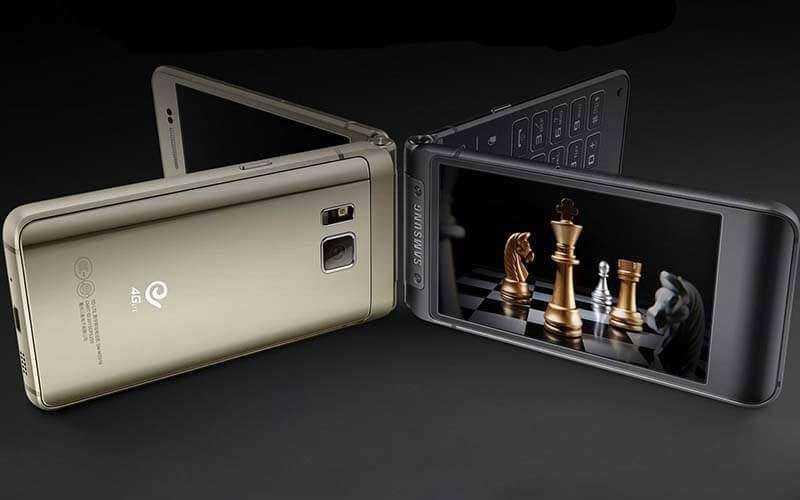 Новый смартфон Samsung W2016