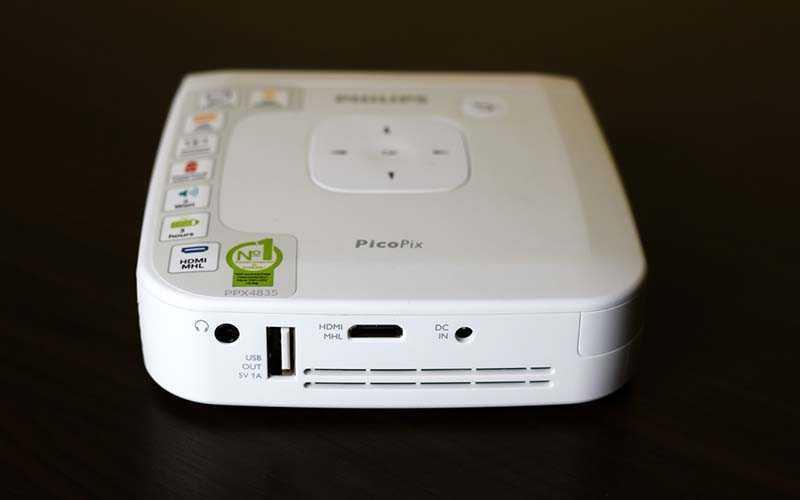 Тест проектора Philips PicoPix 4835