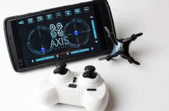 VIDIUS Axis самый маленький квадрокоптер с камерой