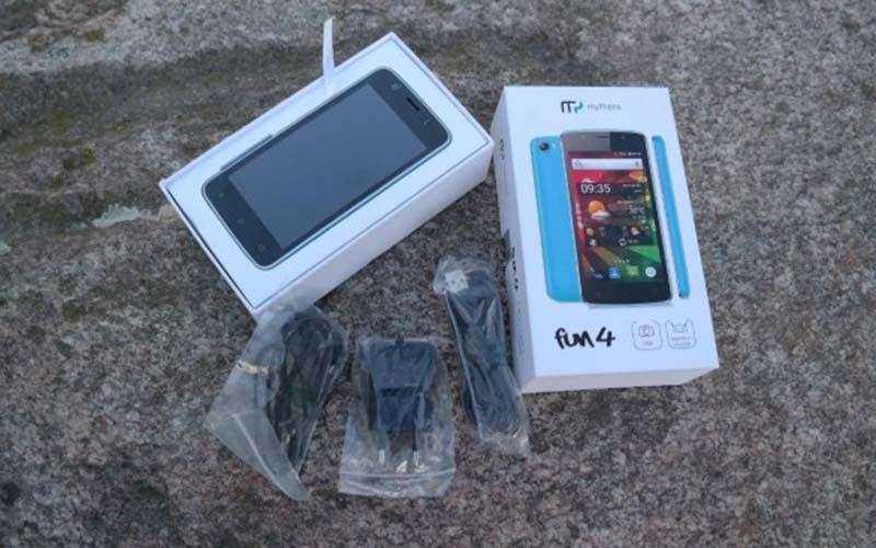 MyPhone Fun 4 из коробки