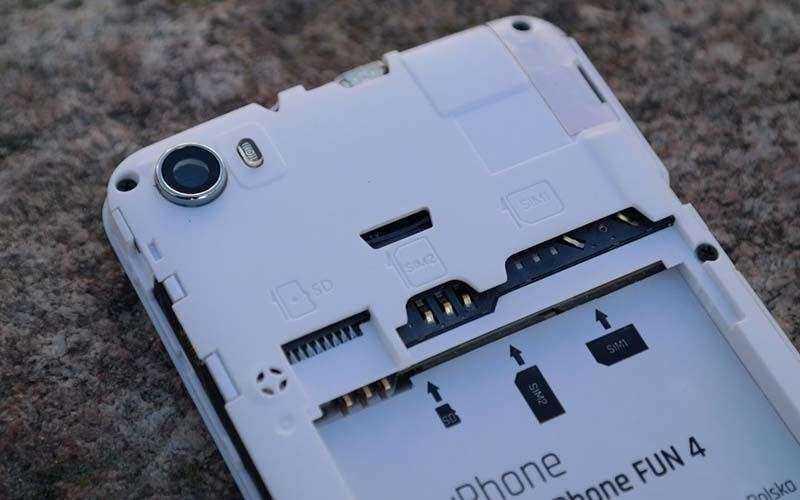 MyPhone Fun 4 без крышки
