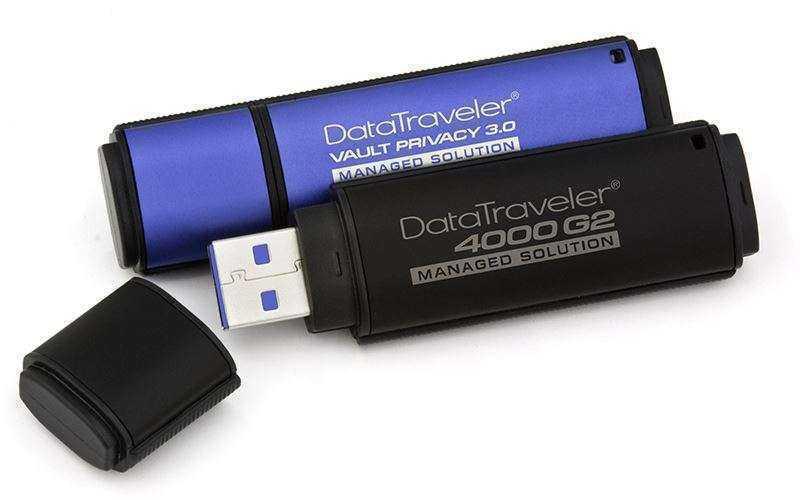 Флеш-накопители DataTraveler Kingston – защита и шифрование данных