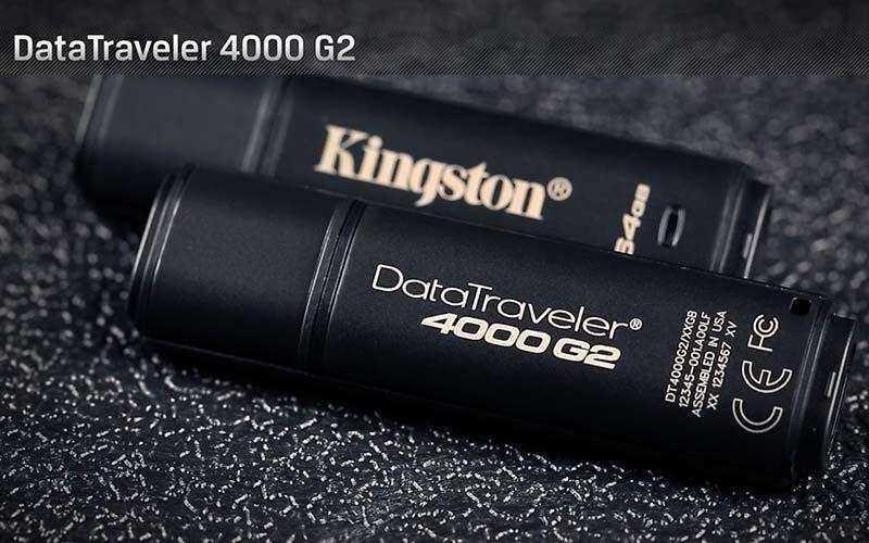 Новый уровень защиты с DataTraveler Kingstone