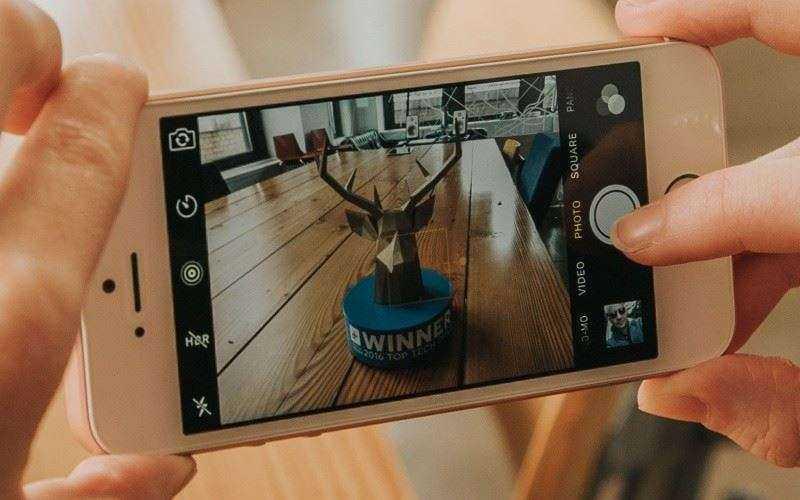 Камера Apple iPhone SE
