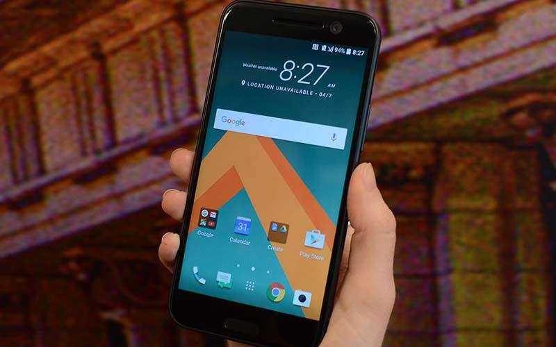 Классический HTC дизайн с изюминкой