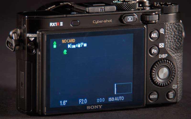экран Sony RX1R II