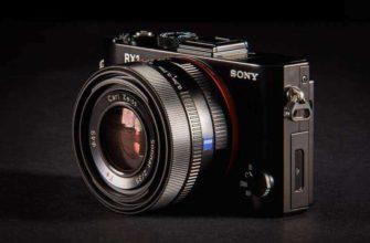 Изящная фотокамера Sony Cyber-shot RX1R II - Обзор