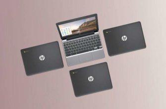 Ноутбук HP Chromebook 11 G5 поддерживает приложения Android