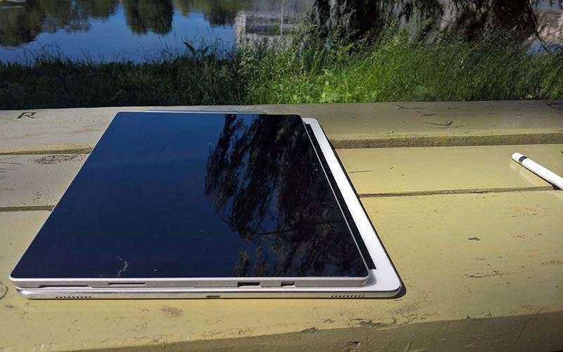 Производительность Surface Pro 4 и IPad Pro