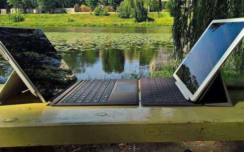 Сравнение Surface Pro 4 и IPad Pro 12,9