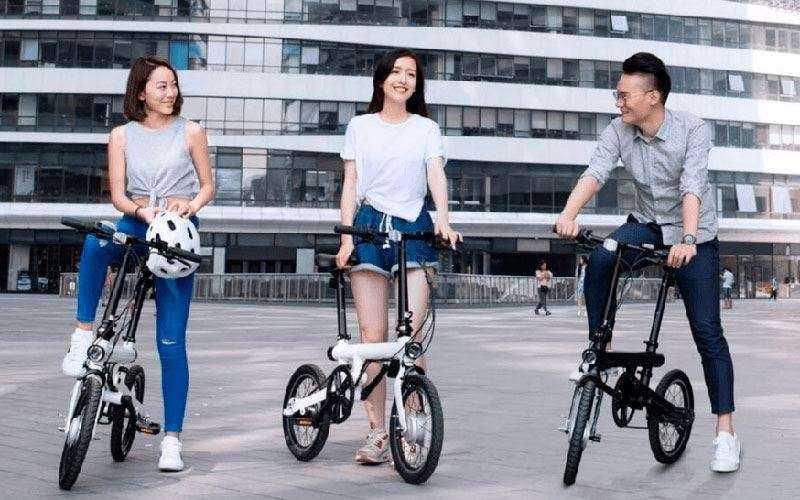 Электрический велосипед Xiaomi QiCycle