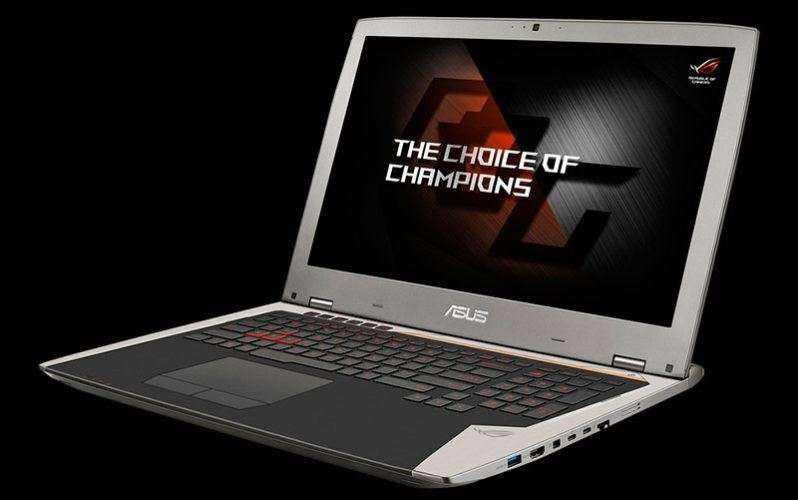 Новый игровой ноутбук Asus ROG G701