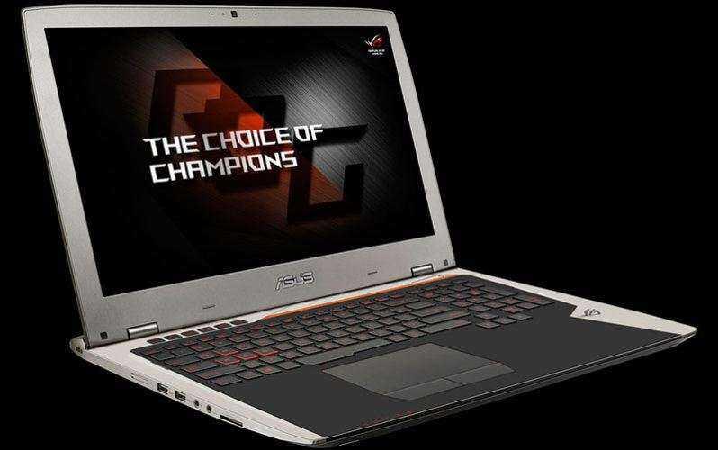 Ноутбук Asus ROG G701 получил Nvidia GeForce GTX 980