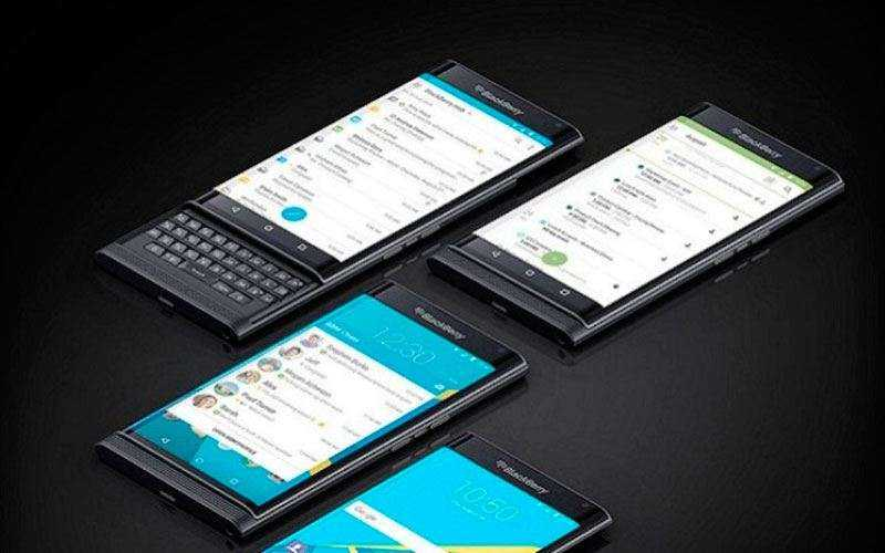 Смартфоны BlackBerry Neon, Argon, Mercury