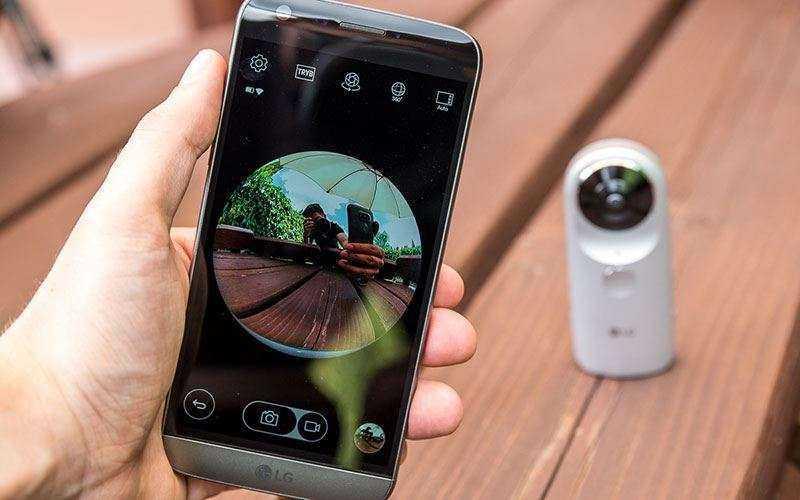 Тест LG 360 Cam - как это работает