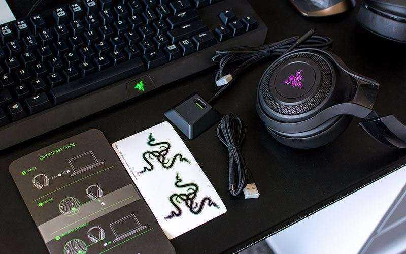 Игровые наушники Razer ManO'War