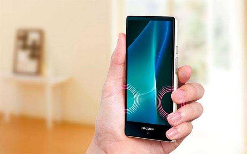 Новый смартфон Sharp Aquos Mini
