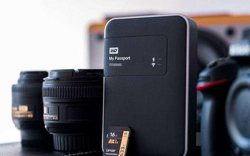 Устройство для хранения WD My Passport Wireless