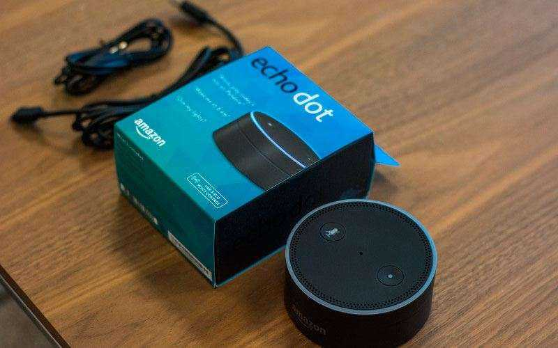 Тест Amazon Echo Dot