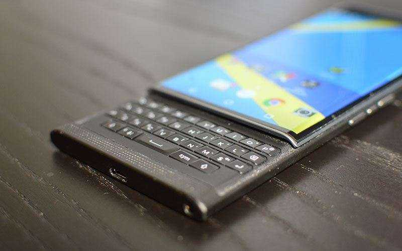 телефон BlackBerry Priv