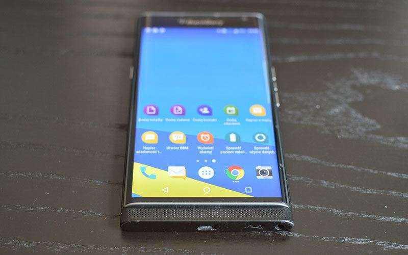 Новый BlackBerry Priv, совершенно другой смартфон