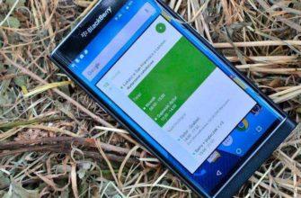 BlackBerry Priv – Обзор первого Android телефона компании