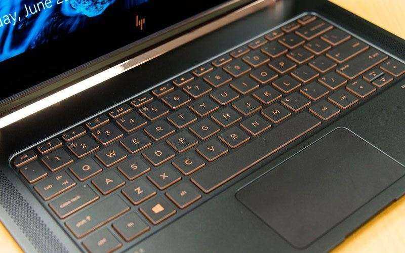 клавиатура HP Spectre 13