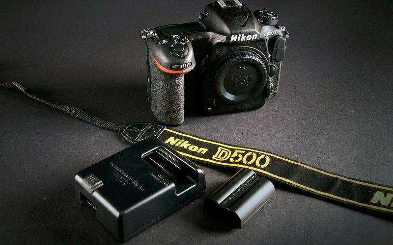 комплект Nikon D500