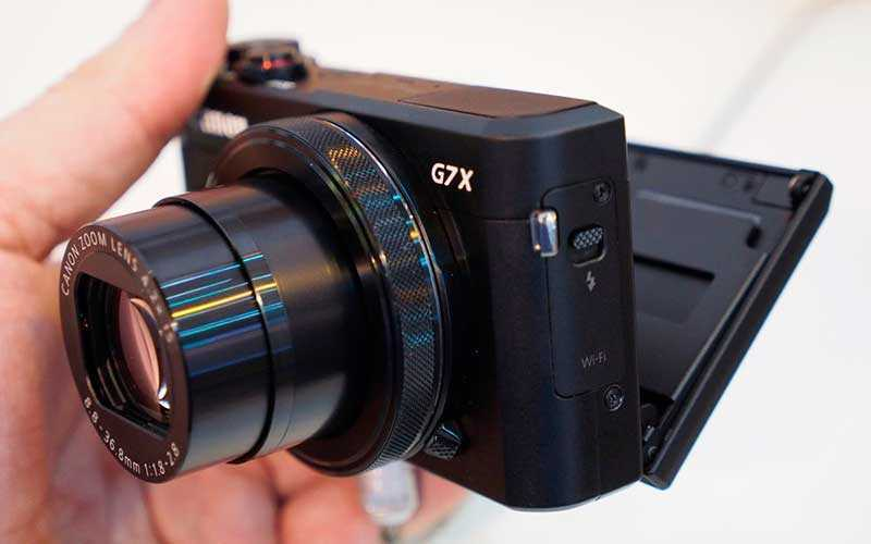 Обзор Canon PowerShot G7X Mark II