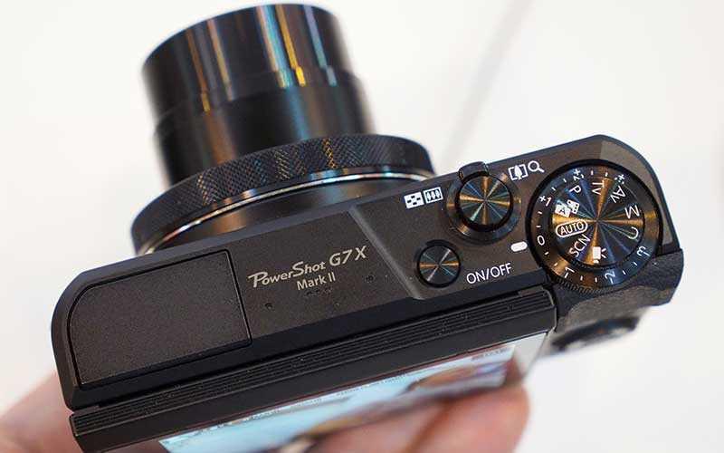 Улучшения в Canon PowerShot G7X Mark II
