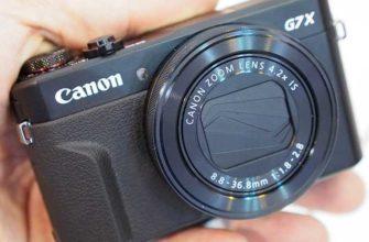 Canon PowerShot G7X Mark II – Обзор компактной обновленной камеры
