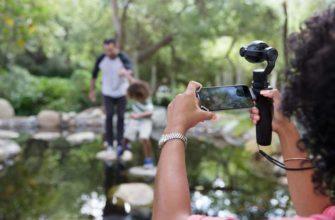 DJI Osmo+ ручная экшн камера со стабилизацией и зумом
