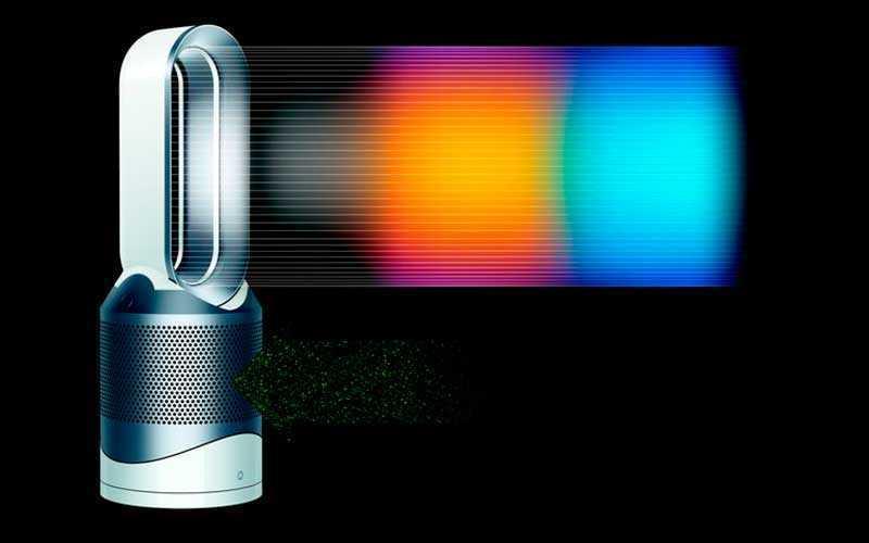 Dyson Pure Hot+Cool Link – нагревает, охлаждает и очищает воздух