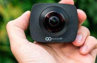 GoClever Extreme 360 – Обзор дешевой камеры 360 градусов