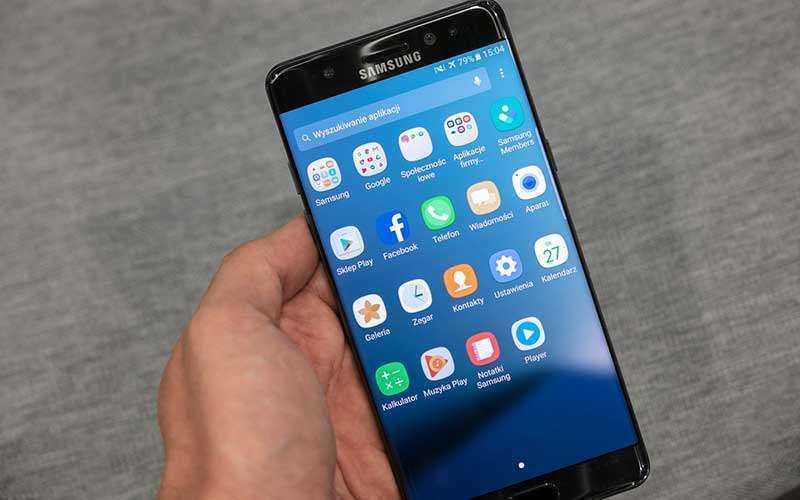 Экран Samsung Galaxy Note 7