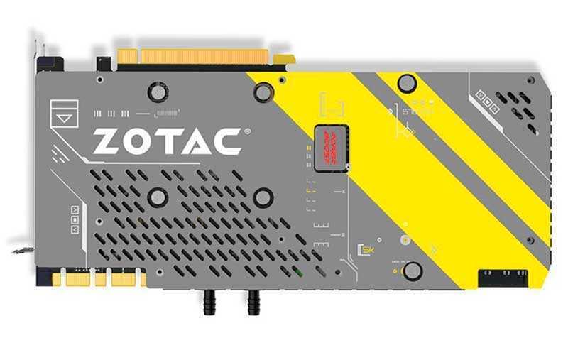 Видеокарта Zotac GeForce GTX 1080 ArcticStorm