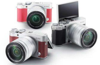 Fujifilm X-A3 новые камеры и объектив Fujinon XF23mm F2 R WR3