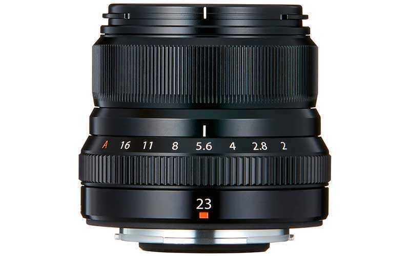 объектив Fujinon XF23mm F2 R WR